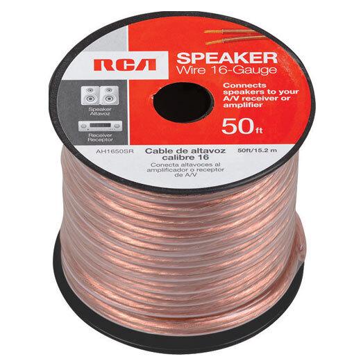 Low Voltage, Speaker & Antenna Wire