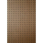 DPI 2 Ft. x 4 Ft. x 1/4 In. Brown Green Core Hardboard Pegboard Image 1