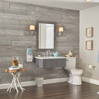 DPI 6 In. W. x 48 In. L. x 1/4 In. Thick Pewter Gray Rustic Wall Plank (12-Pack) Image 2