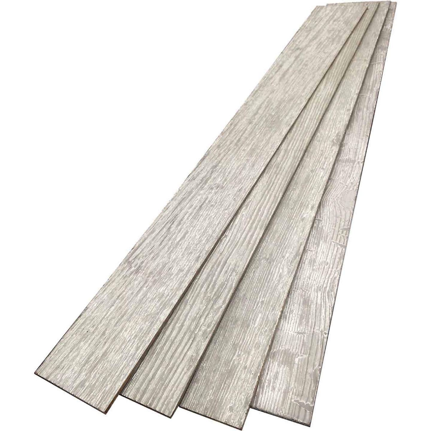 DPI 6 In. W. x 48 In. L. x 1/4 In. Thick Pewter Gray Rustic Wall Plank (12-Pack) Image 3