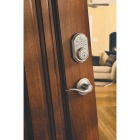 Kwikset Signature Series SmartCode Satin Nickel Electronic Deadbolt Image 3