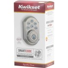 Kwikset Signature Series SmartCode Satin Nickel Electronic Deadbolt Image 5