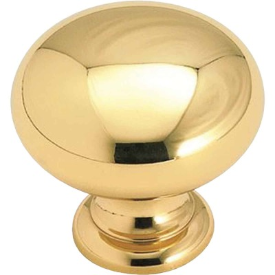 Amerock Allison Brass 1-1/4 In. Cabinet Knob