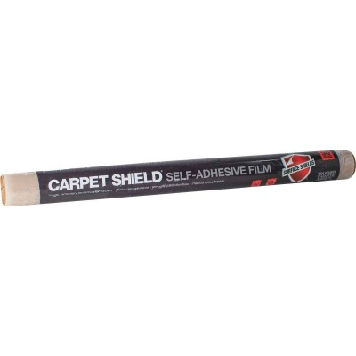 Surface Shields Carpet Shield 24 In. x 50 Ft. Self-Adhesive Film Floor Protector