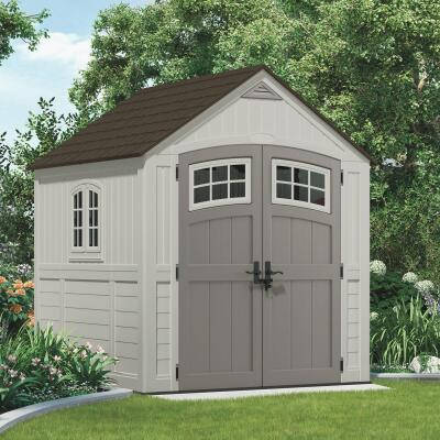 Suncast Cascade 322 Cu. Ft. Blow Molded Resin Storage Shed