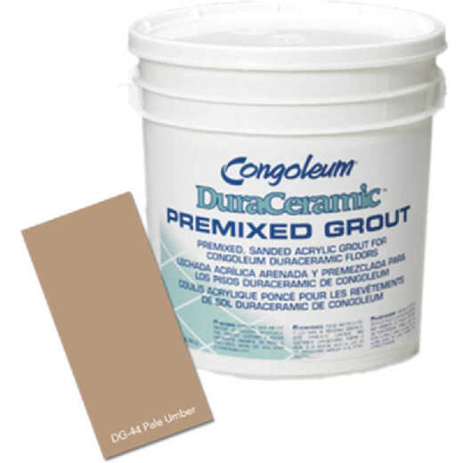 Congoleum DuraCeramic Gallon Pale Umber Sanded Premixed Tile Grout