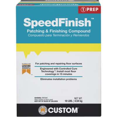 SpeedFinish Patching & Finishing Compound, Gray To White, 10 Lbs.