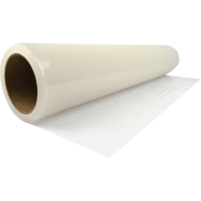 Surface Shields Carpet Shield 24 In. x 200 Ft. Self-Adhesive Film Floor Protector
