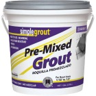 Custom Building Products Simplegrout Gallon Natural Gray Sanded Tile Grout Image 1