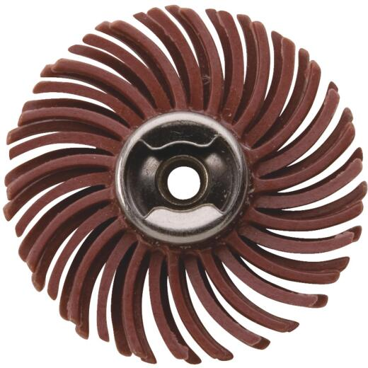 Dremel 1 In. 220G EZ Lock Abrasive Wheel Brush