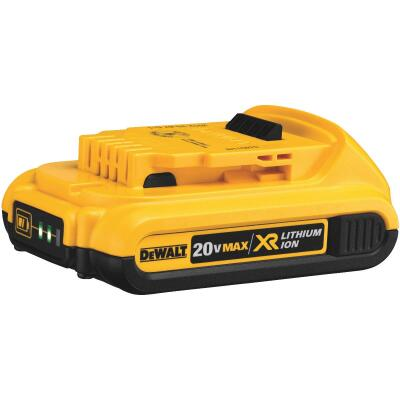 DeWalt 20 Volt MAX XR Lithium-Ion 2.0 Ah Compact Tool Battery (2-Pack)