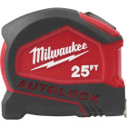 Milwaukee 25 Ft. Compact Auto Lock Tape Measure Image 1