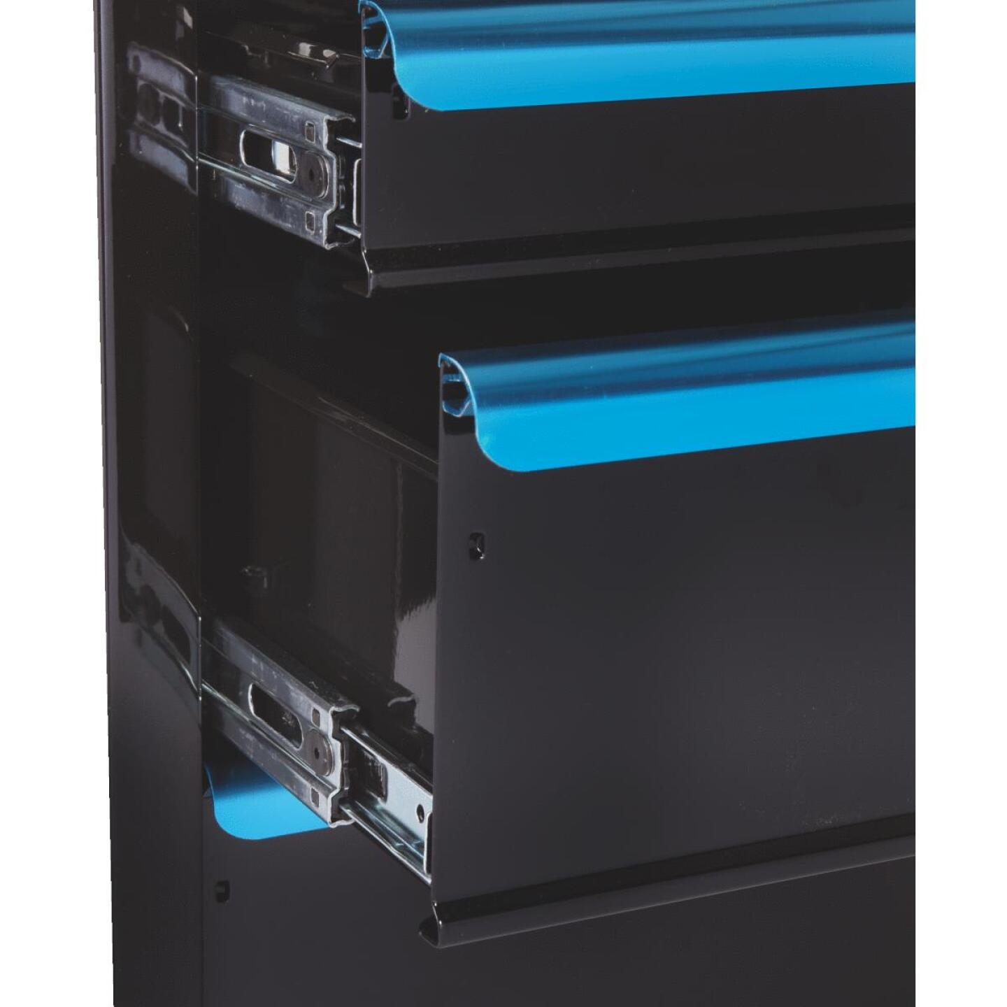 Channellock 26 In. 7-Drawer Black and Blue Tool Chest Image 6
