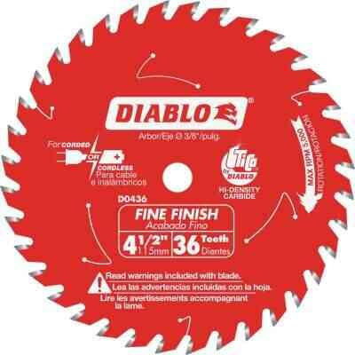 Diablo 4-1/2 In. 36-Tooth Finish Circular Saw Blade