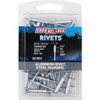 Channellock 3/16 In. to 1/4 In. Dia. x 0.251 In. to 0.500 In. Grip Aluminum Multigrip POP Rivet (40-Pack) Image 1