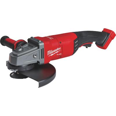 Milwaukee M18 FUEL 18 Volt Lithium-Ion Brushless 7 In. - 9 In. Large Angle Grinder (Bare Tool)
