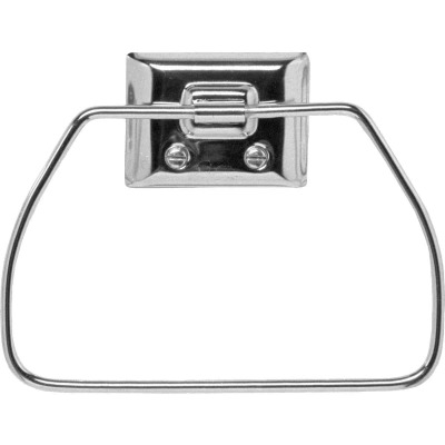 Decko Chrome Towel Ring