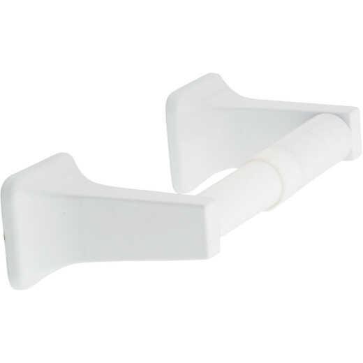 Home Impressions Vista White Wall Mount Toilet Paper Holder