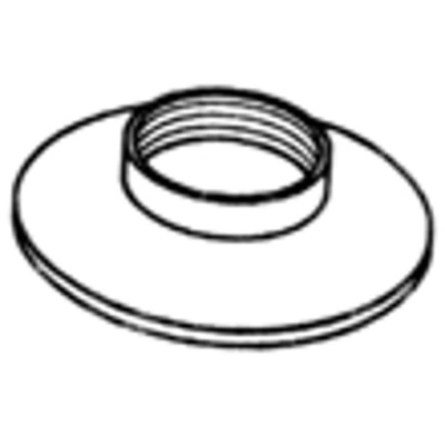Danco 1 In. Chrome Plated Chrome-Plated Flange