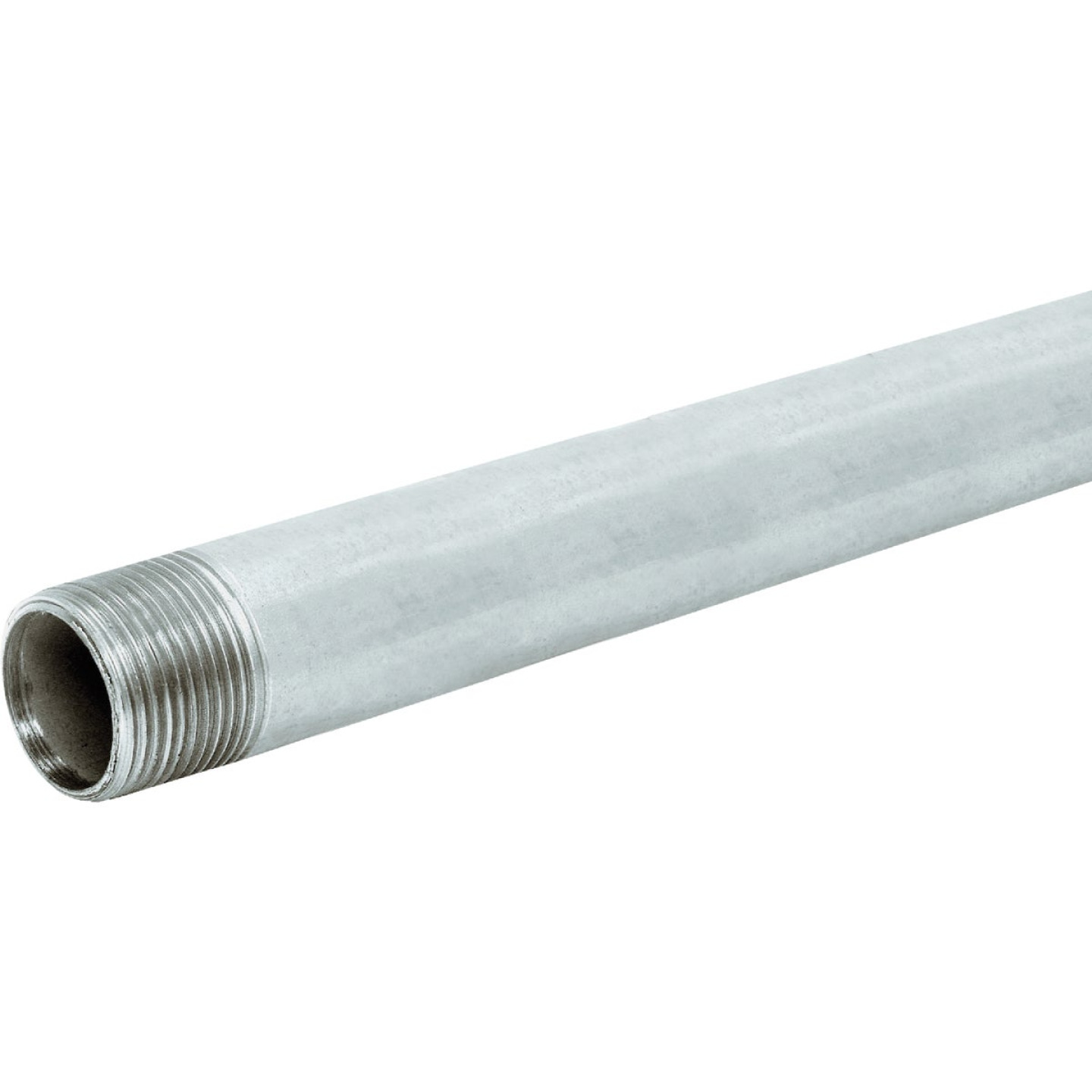 Southland 1/2 In. x 10 Ft. Carbon Steel Theaded Galvanized Pipe Image 1