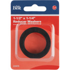 Do it Best 1-1/2 In. x 1-1/4 In. Black Rubber Slip Joint Washer Image 2