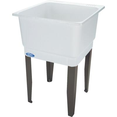 Mustee Utilatub 21 Gallon 23 In. W x 25 In. L Laundry Tub