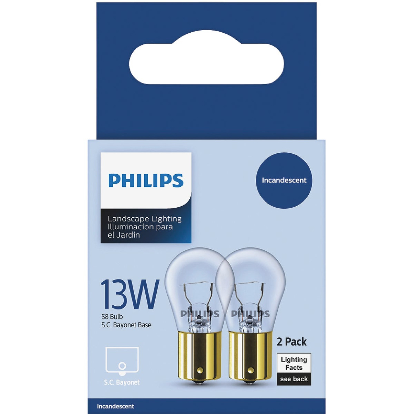 Philips 13W Soft White Bayonet Incandescent Appliance Light Bulb (2-Pack) Image 2