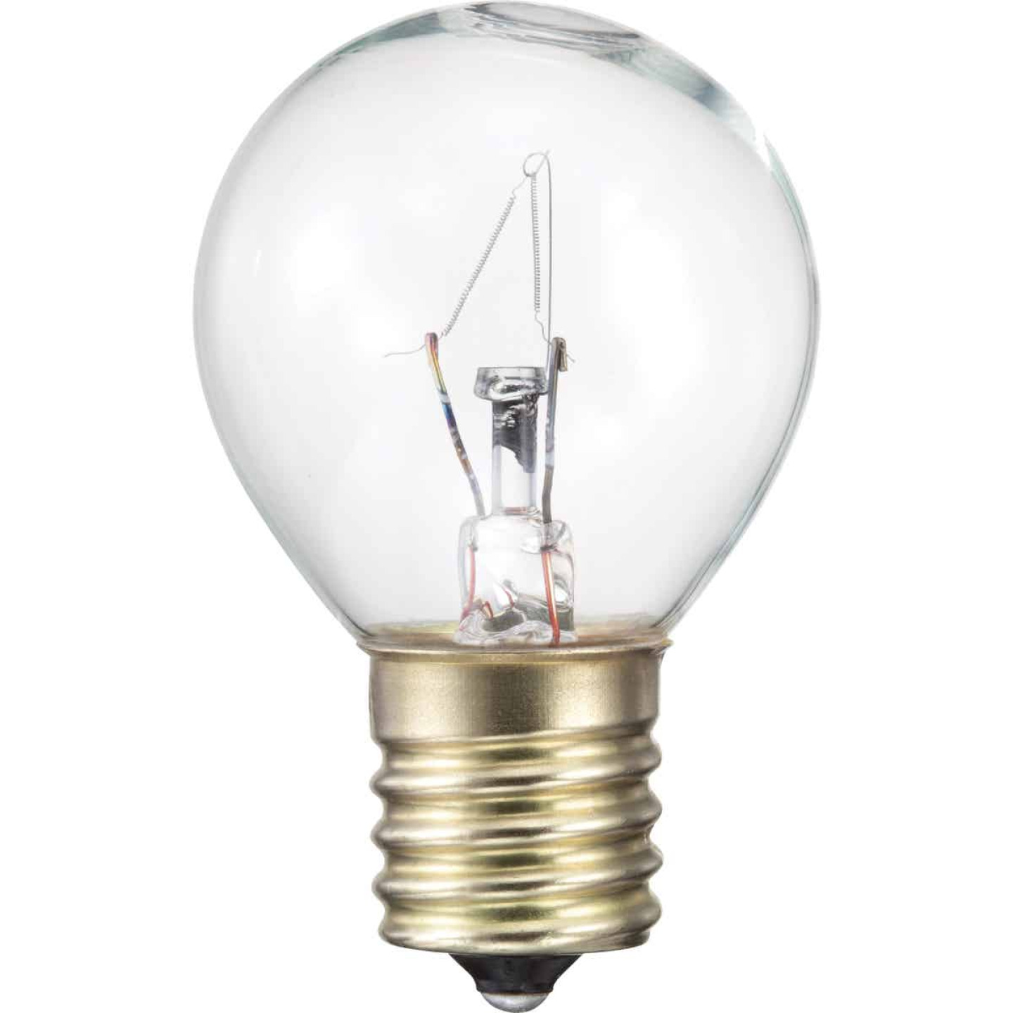 Philips 25W Clear Intermediate S11 Incandescent Appliance Light Bulb Image 1