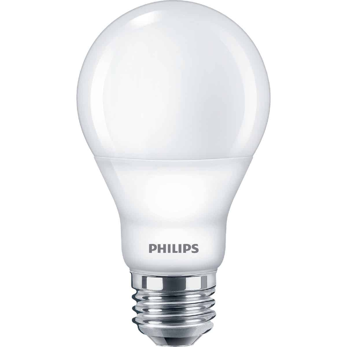 Philips SceneSwitch 60W Equivalent Soft White/Warm White/Warm Glow A19 Medium LED Light Bulb Image 1