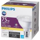 Philips 75W Equivalent Bright White PAR30 Short Neck Medium Dimmable LED Floodlight Light Bulb with 25 Deg. Beam Image 5