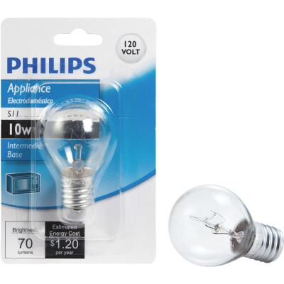 Philips 10W Clear Intermediate Base S11 Incandescent Exit Sign Light Bulb