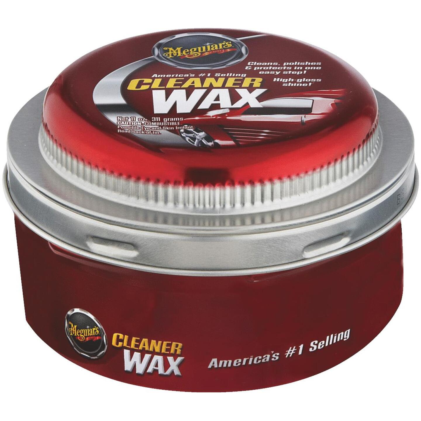Meguiars 11 oz Paste Car Wax Image 1