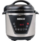 Nesco 6 Qt. Stainless Steel Multi-Function Premium Pressure Cooker Image 1