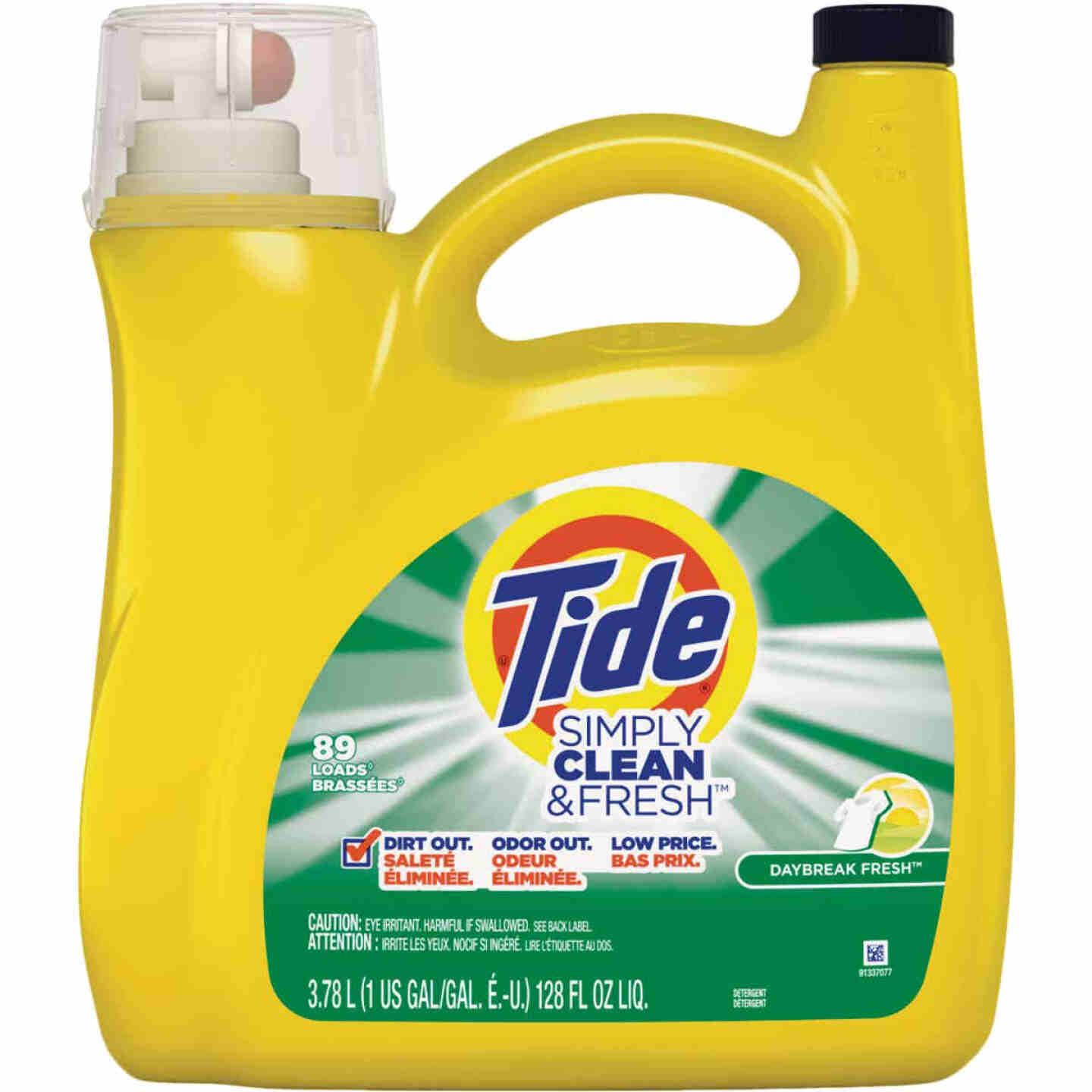 Tide Simply Clean & Fresh 128 Oz. 89 Load High Efficiency Liquid Laundry Detergent Image 1