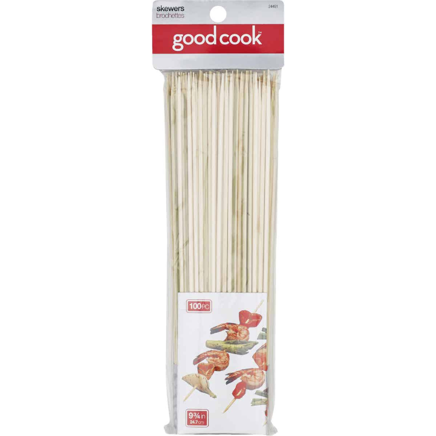 Goodcook 9.75 In. Bamboo Skewer (100-Count) Image 1