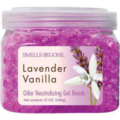 Smells Begone 12 Oz. Gel Beads Lavender Vanilla Odor Neutralizer