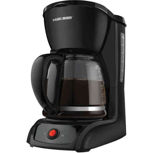 Black & Decker 12 Cup Black Coffee Maker