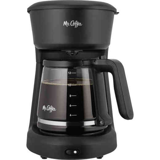 Mr Coffee 12 Cup Switch Black Coffee Maker
