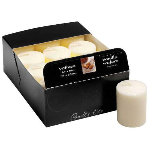 Candle-lite Essentials Classic Vanilla Votive Candle