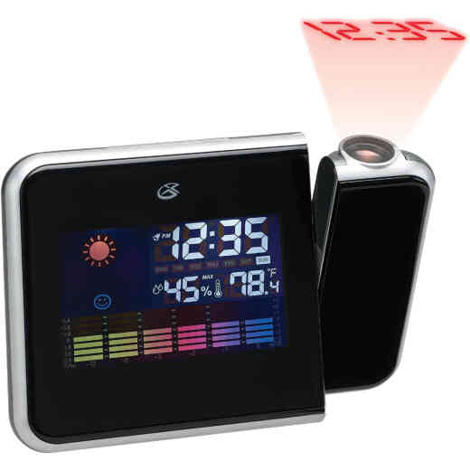 GPX Weather Alarm Clock With Time Projection