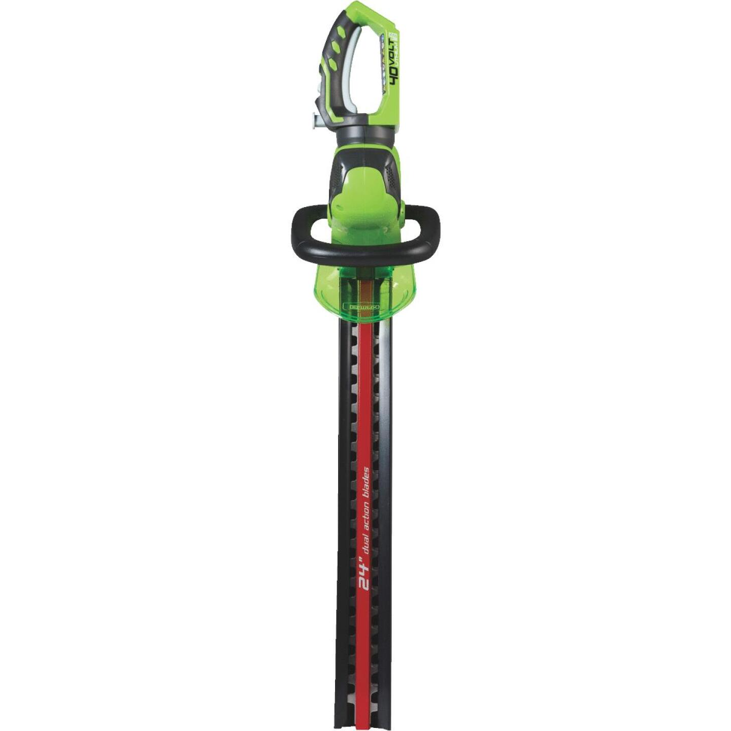 Greenworks G-Max 24 In. 40V Lithium Ion Cordless Hedge Trimmer (Bare Tool) Image 3