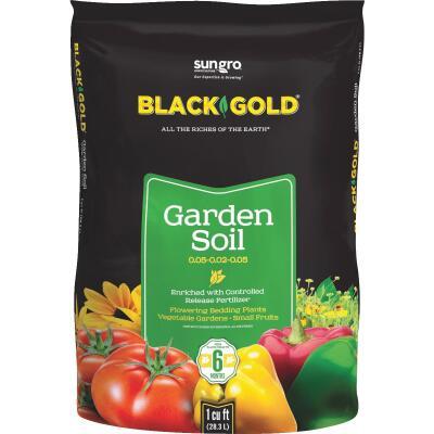 Black Gold 1 Cu. Ft. 30 Lb. All Purpose Garden Soil