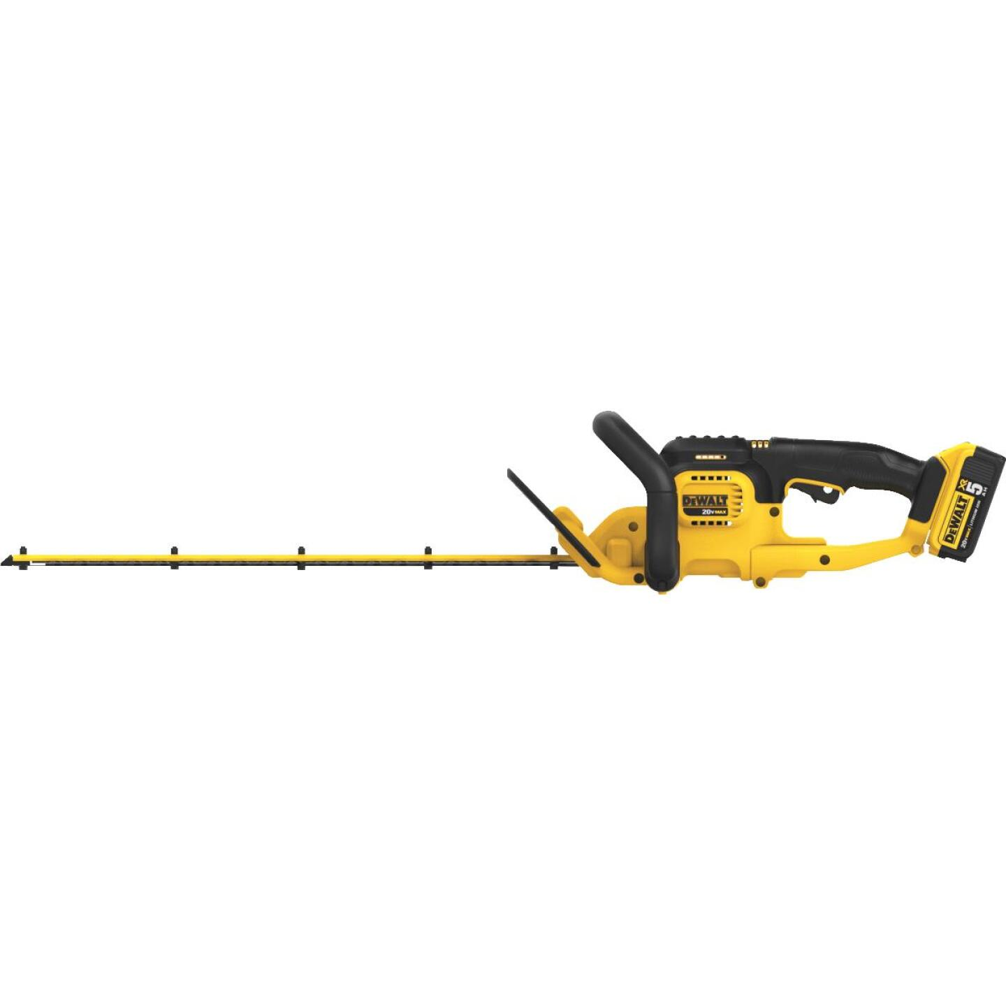 DeWalt 22 In. 20V Lithium Ion Cordless Hedge Trimmer Image 2
