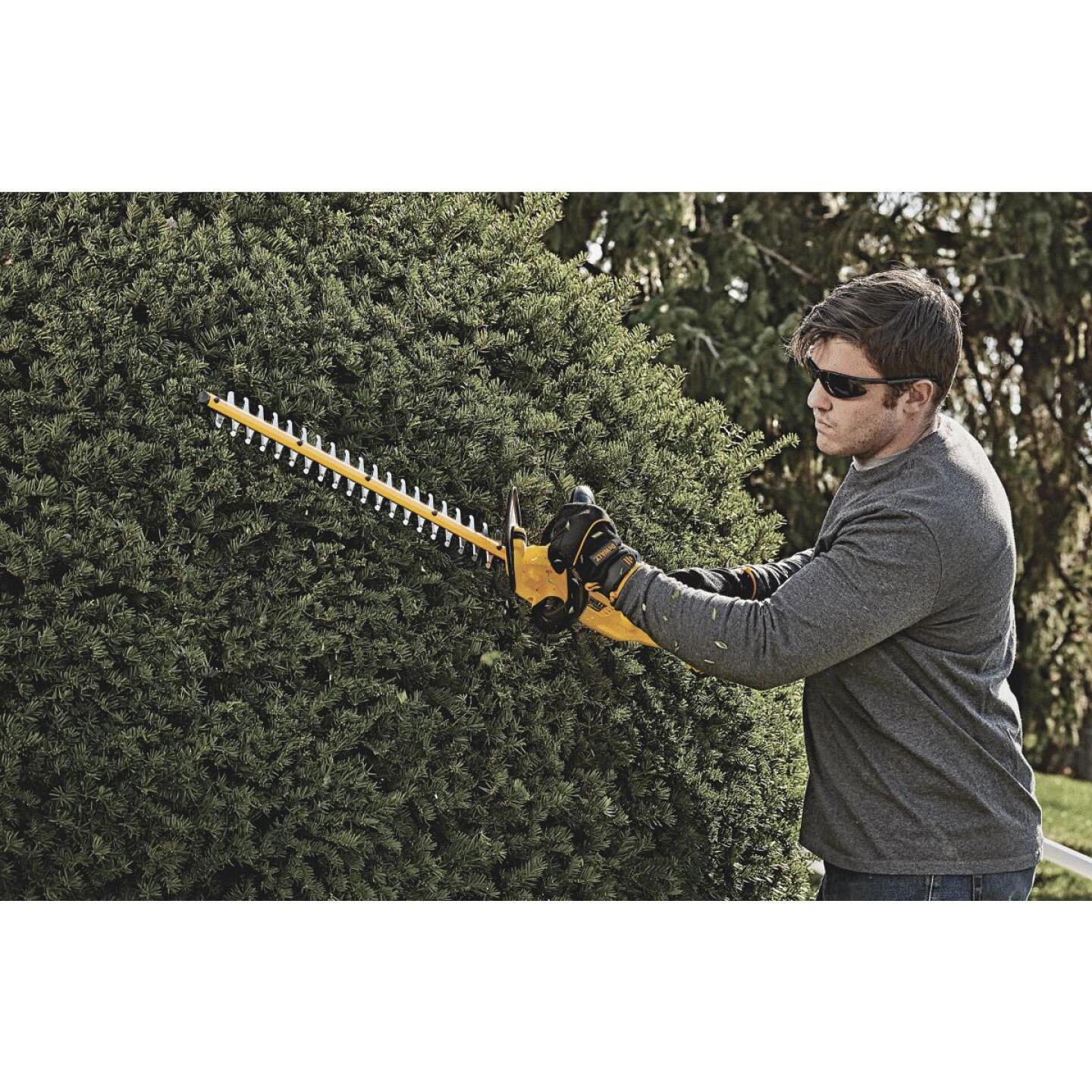 DeWalt 22 In. 20V Lithium Ion Cordless Hedge Trimmer Image 4