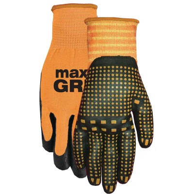 Midwest Quality Glove Men's Large Nitrile Coated Glove