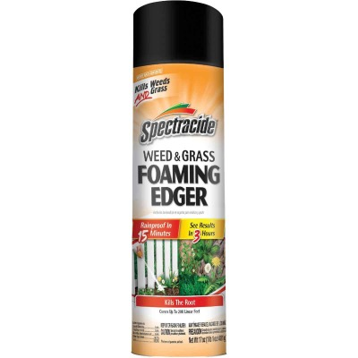 Spectracide 17 Oz. Ready To Use Aerosol Weed & Grass Foaming Edger