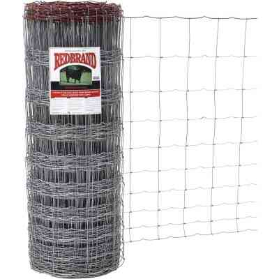 Keystone Red Brand 47 In. H. x 330 Ft. L. Galvanized Steel Monarch Field Fence
