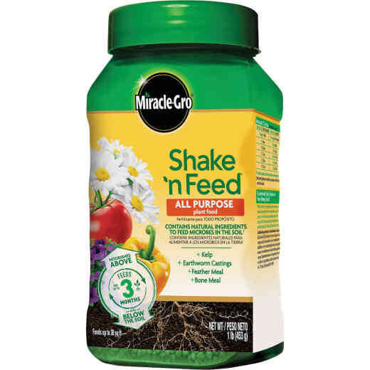 Miracle-Gro Shake N' Feed 1.5 Lb. 12-4-8 All-Purpose Dry Plant Food