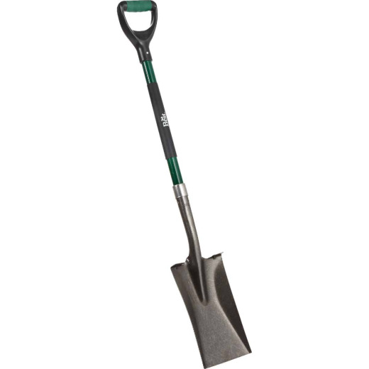 Do it Best 32 In. Fiberglass D-Handle Square Point Garden Spade