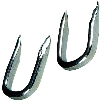 Hillman Anchor Wire 7/16 In. 9 ga Blued Fence Staple (6 Ct., 1.5 Oz.)